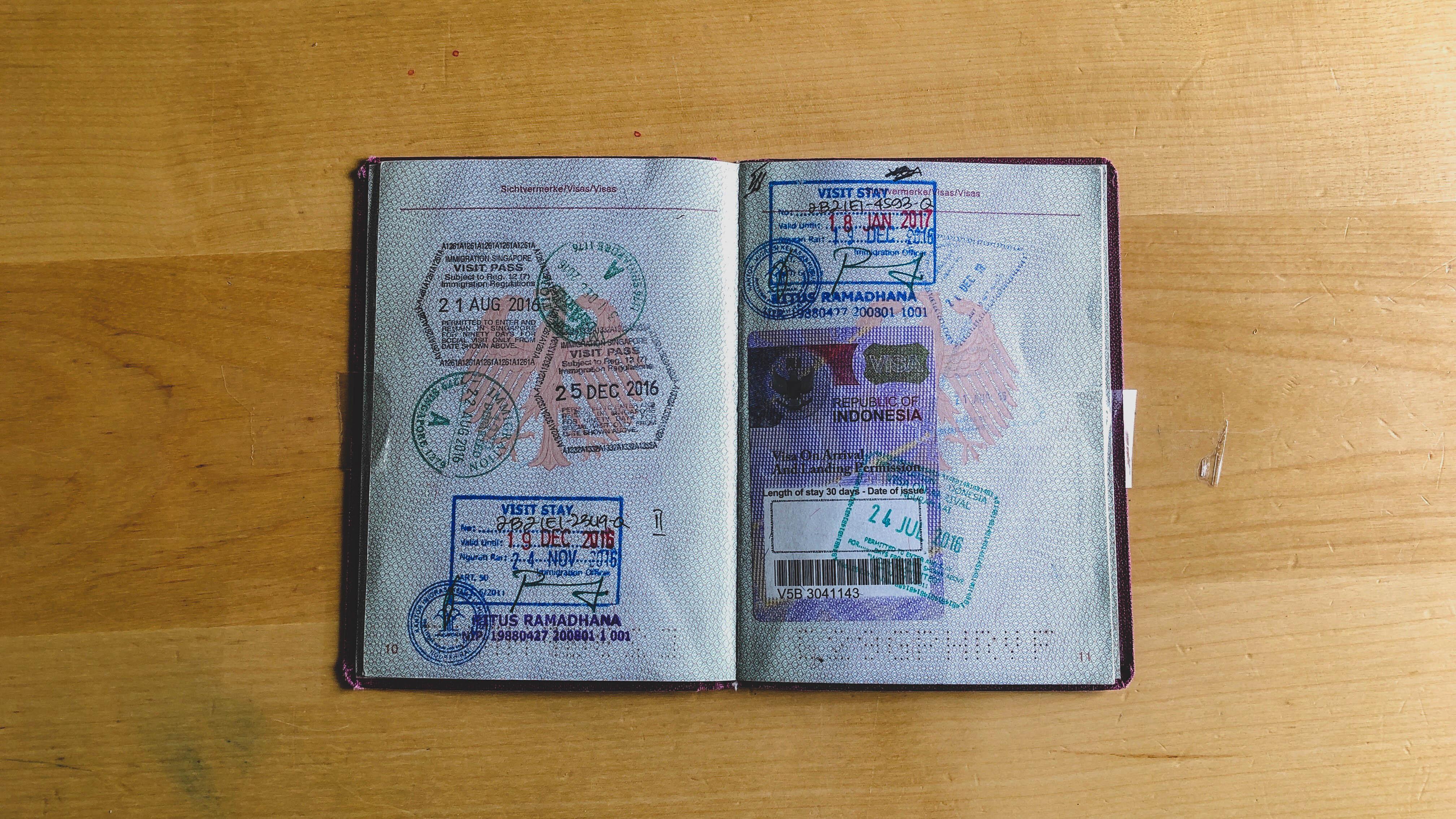 Passport: Indonesia